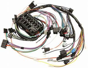 Wiring Harness  Dash  1967 Gto  Lemans  Tempest  Console