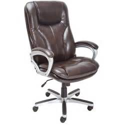 serta executive big tall puresoft office chair roasted