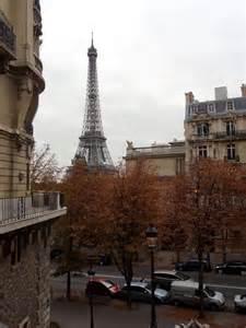 Fall Eiffel Tower Paris France