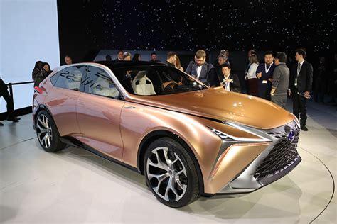 2018 Detroit Auto Show Lexus Lf1 Limitless Crossover Concept