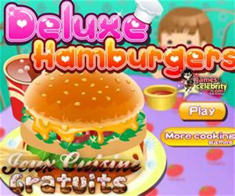 jeux de cuisine hamburger la pizza de sur jeux cuisine gratuits
