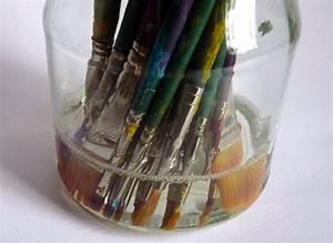 Glas Milchig Machen : pinsel reinigen mit pinselreiniger so geht 39 s mein herz ~ Kayakingforconservation.com Haus und Dekorationen