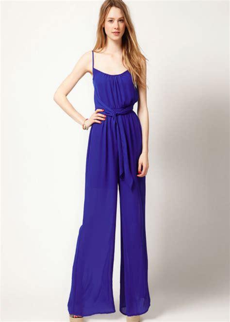 blue jumpsuit womens 21 fabulous jumpsuit trends for 2014 pretty designs