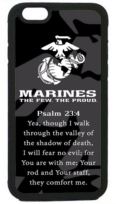 usmc marines prayer psalm marine corps iphone