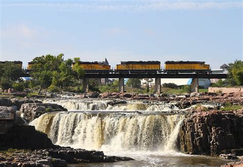 Railfanning In Sioux Falls Sd