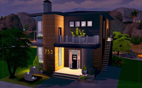 contemporary desert house sims 4 houses