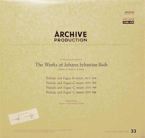 Johann Sebastian Bach Prelude And Fugue B Minor Bwv 544