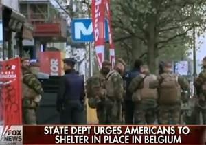 Europe | Belgium | maximum terror alert | lockdown