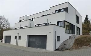 Haus Für 1000 Euro : moderne doppelhaush lfte mit dachgarten und flachdach ~ Lizthompson.info Haus und Dekorationen