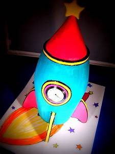 Rocket Ship Clock How To Make A Clock Decorating And