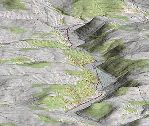3D DEM Topographical Map Pseudo Color | Satellite Imaging Corp