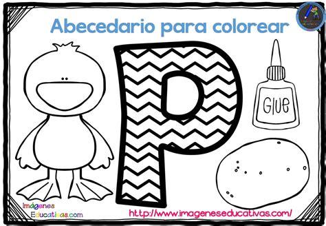 abecedario para colorear listo para descargar e imprimir zig zag 17 imagenes educativas