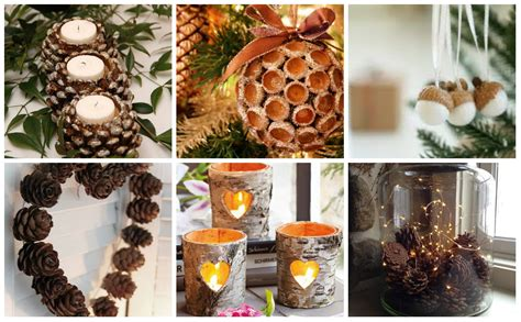 diy ideen fuer weihnachtsdekoration aus naturmaterialien