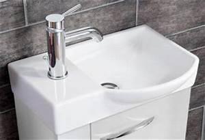 Gäste Wc Waschbecken : fackelmann keramikbecken 45 cm x 32 cm waschmulde rechts badm ~ Sanjose-hotels-ca.com Haus und Dekorationen