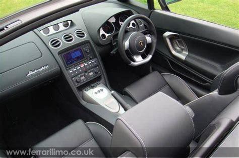 sports cars lamborghini gallardo interior pictures