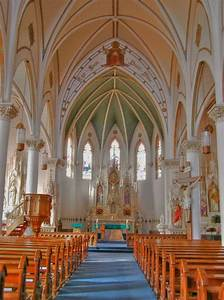 HDR of interior of St. Mary's Church. This is one of the ...