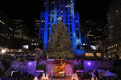 2008 christmas in rockefeller center tree lighting