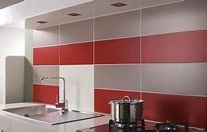 Plaque Pour Recouvrir Carrelage Mural Cuisine : comment choisir sa cr dence leroy merlin ~ Premium-room.com Idées de Décoration