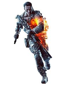 Battlefield 4 Character Transparent