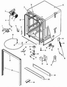 Maytag Mdbh750aws Parts List And Diagram