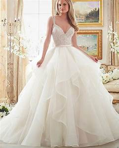 aliexpresscom buy joky quaon 2017 sexy deep v neck With ball gown wedding dress with straps