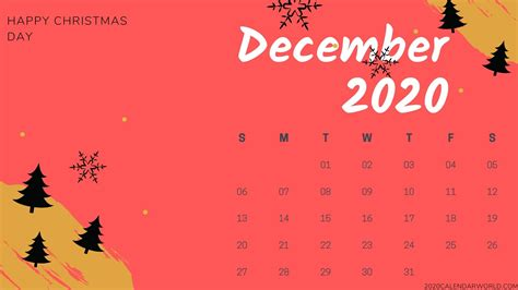 december calendar hd wallpaper  desktop background