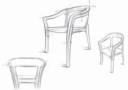 Chair Wood Steel Sketch Chairs Brothers Bouroullec