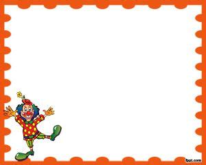 clown funny powerpoint template  powerpoint templates