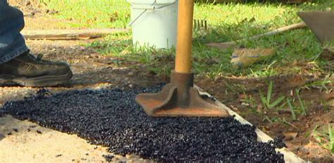 How to Patch a Hole in an Asphalt Driveway   Today's Homeowner
