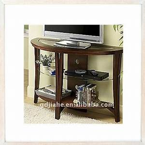 Low Price Home Furniture Glass Top Wooden Tv Stand Picture ...