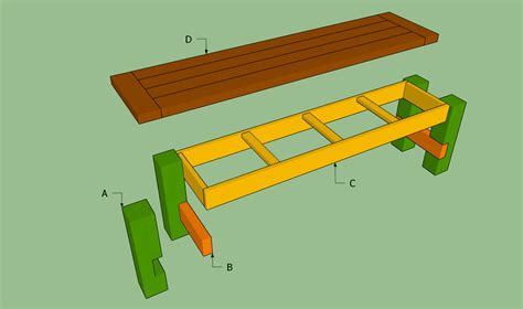 woodwork diy wooden bench seat plans  plans