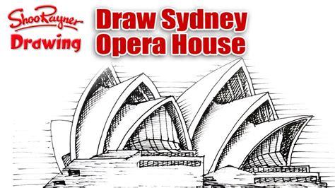 draw sydney opera house youtube
