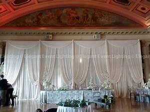 Fabric Backdrops Elegant Event LightingElegant Event