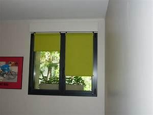 Rideau Fenetre Aluminium : store enrouleur sur fenetre aluminium apl textiles ~ Premium-room.com Idées de Décoration