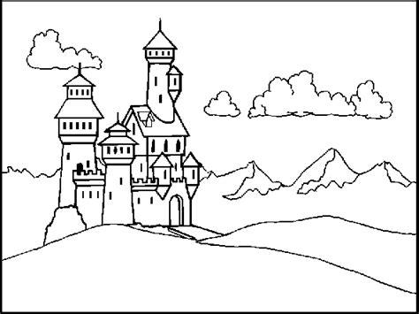 disegni per dipingere ad acquerello disegni da colorare paesaggi