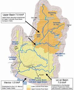 Management Of The Colorado River  Water Allocations
