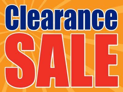 template clearance sale yard sign orange burst background