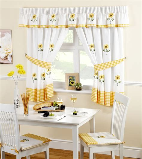 ready  kitchen window curtains pelmets seat pads