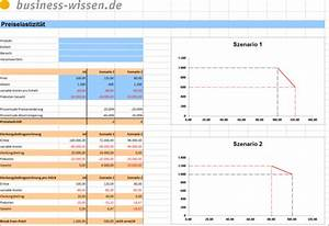 Excel Tabelle Berechnen : preiselastizit t berechnen und preis absatz funktion ermitteln excel tabelle business ~ Themetempest.com Abrechnung