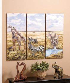 1000 ideas about safari room decor on pinterest cheetah With kitchen cabinets lowes with safari animal wall art
