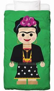Frida Kahlo Kissen : frida kahlo toy als bettw sche von rafa gomes juniqe ~ One.caynefoto.club Haus und Dekorationen