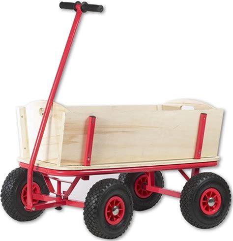 chariot remorque en bois grand chariot de plage enfant chariot 224 bras en bois