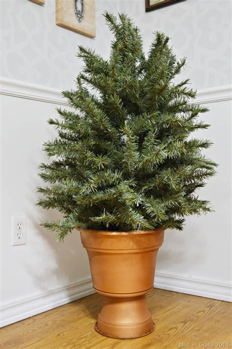 how to fix artificial christmas tree branches recycle an artificial tree into topiaries mad in crafts