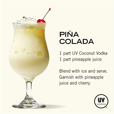 pina colada recipes pi 241 a colada recipe coconut vodka pineapple slices and pineapple juice