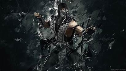 Mortal Kombat Smoke 4k Wallpapers Deviantart Cave