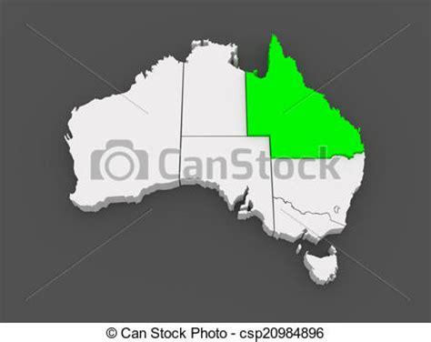 map  queensland australia