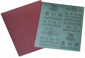 Papier Abrasif à L Eau : papier abrasif imperm able l 39 eau de sable d 39 oxyde d ~ Dailycaller-alerts.com Idées de Décoration