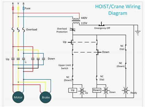 ehoistul electric hoist wiring diagram wiring diagram electric hoist wiring diagram get free image about
