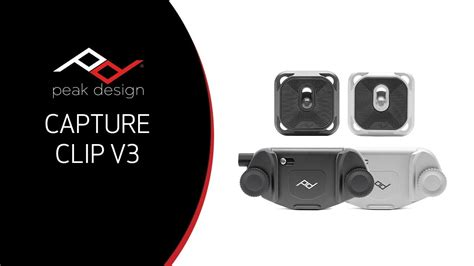 peak design capture clip kickstarter unboxing overview peak design capture