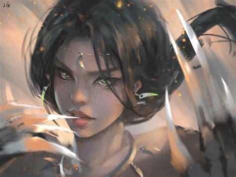 Digital Paintings By Wang Ling Nenuno Creative Digital
